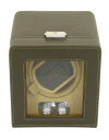 Watch Winder carica 1 orologio in eco pelle Verde Friedrich 23