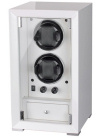 Watch Winder Modalo carica 2 orologi Tower Bianco Battery