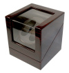 Watch Winder carica 2 orologi automatici Mogano Black Battery