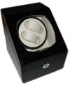 Watch Winder carica orologi automatici 2+2 Nero Battery