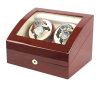 Watch Winder carica orologi automatici 4+6 Ciliegio Battery