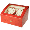 Watch Winder carica orologi automatici 4+6 Radica Battery