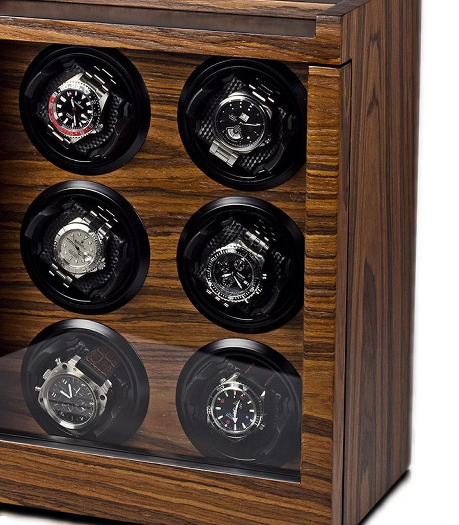 Watch winder carica 6 orologi automatici digital - Porta orologi automatici ...