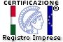 Certificazione Registro delle Imprese