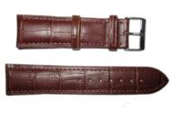 Cinturino in pelle 22 cm. MARRONE