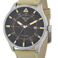 Orologio Militare Army Watch Pilot Beige