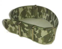 Cinturino in tessuto tipo Nato Mimetico Bianco 18 mm