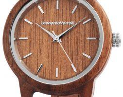 Orologio da donna in legno Leonardo Verrelli