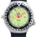 TauchMeister Orologio automatico subacqueo T0276 XXL zaffiro