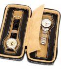 Astuccio porta 2 orologi DELUXE