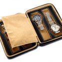 Astuccio porta 4 orologi DELUXE