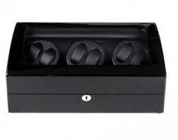 Watch Winder carica orologi automatici 6+7 Nero