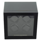 Watch Winder carica 4 orologi automatici Carbon LED
