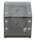 Watch Winder carica 2 orologi automatici Open Black
