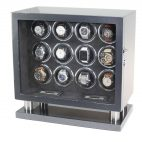 Watch Winder carica 12 orologi automatici Carbon LED
